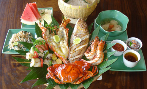 Jimbaran Bay Seafood Basket