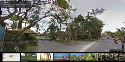 Bali Jimbaran street view