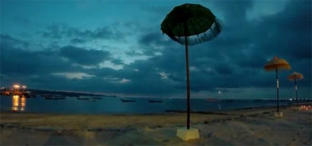 Beach time-lapse