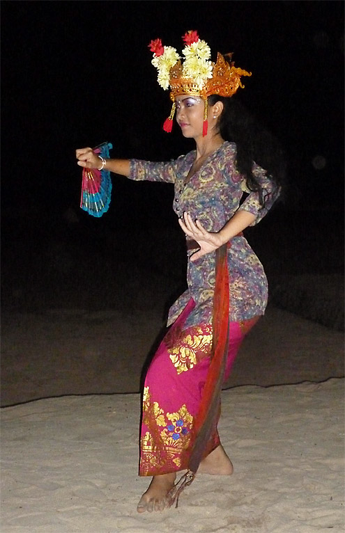 Bali Beach Dancer