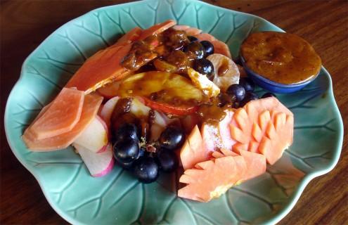 Rujak - Balinese fruit salad