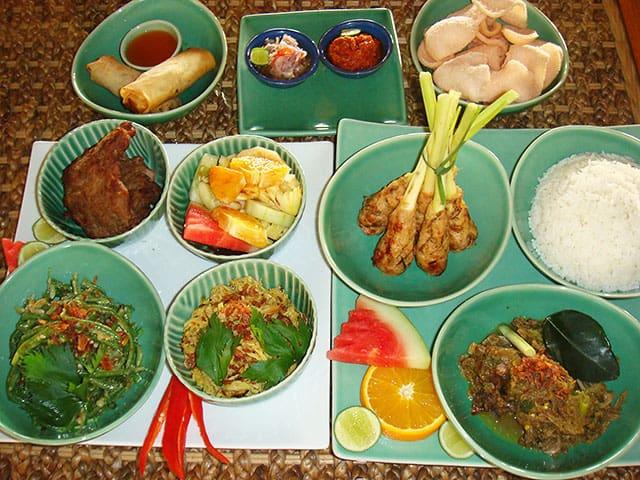 Balinese Rijstafel
