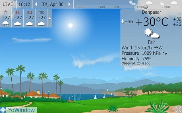 forecast jimbaran