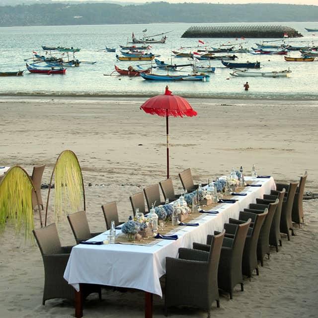 table jimbaran