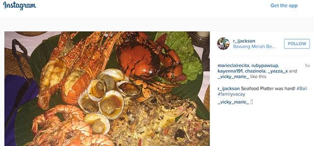 Seafood Platter on Instagram