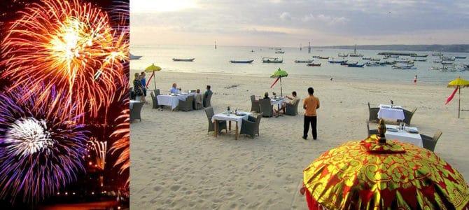 New Year's Eve Dinner in Jimbaran