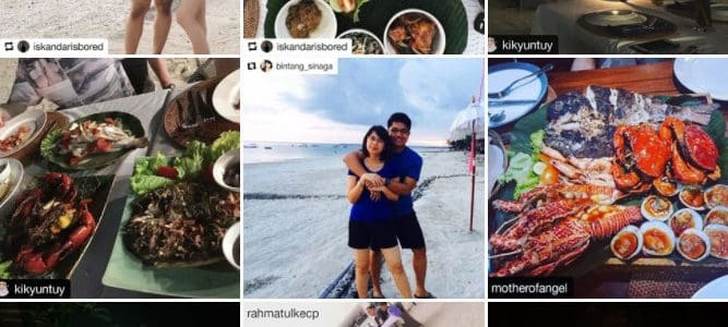 Instagram Bawang Merah Beachfront Restaurant Official