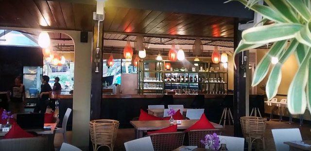 Interior restoran Bali